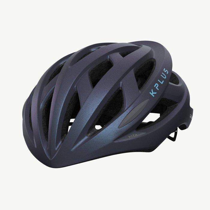 【三鐵共購】【KPLUS】VITA S系列特殊色公路競速單車安全帽-幻彩