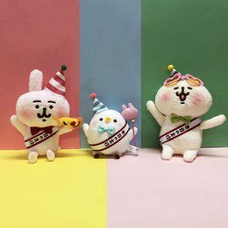 哈哈日貨小舖~日本 卡娜赫拉的小動物 布偶 玩偶 娃娃(1套3款,不拆售)