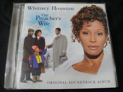 【198樂坊】  Whitney Houston.The Preacher's Wife天使保鑣(電影原聲帶)BF