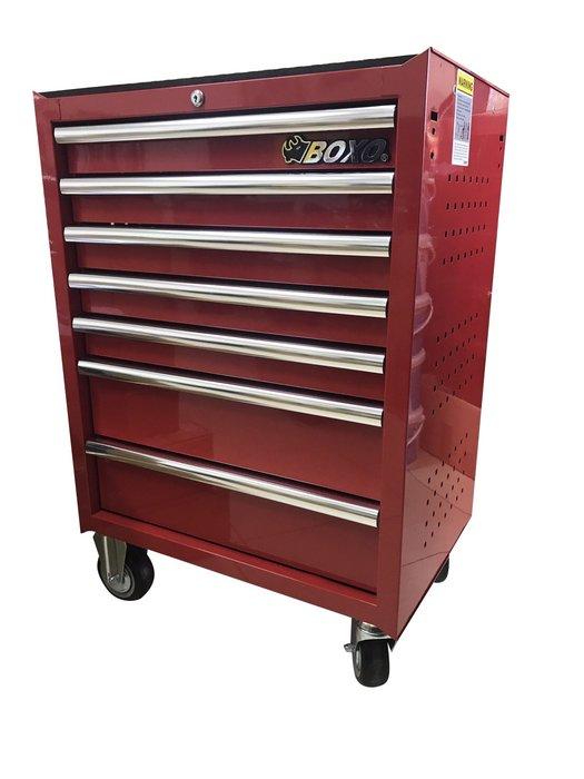 BOXO七抽工具櫃+JTC228件工具組