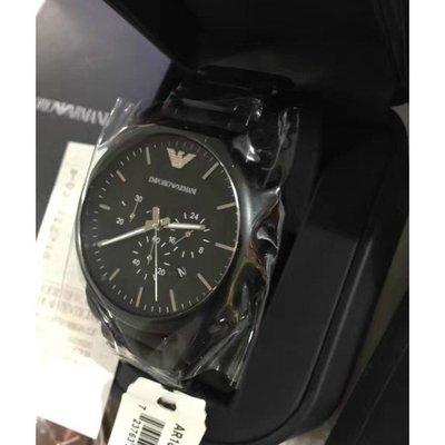 全新正品Armani亞曼尼AR新品手錶 阿曼尼 三眼計時防水日曆石英手錶男錶AR1895 阿瑪尼 手錶