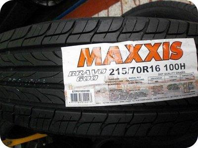 ***天下第一輪***MAXXIS 瑪吉斯 HP600 215/70/16  完工價2800
