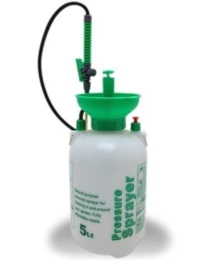 「香港商莊臣」手動噴霧器 高質耐酸性塑膠 容量五公升 SP0003AZA001 花藝花園果園農園 適用