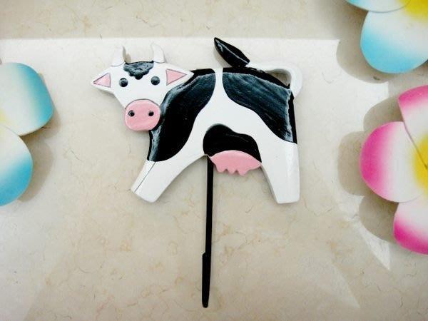 Y【永晴峇里島】巴里島風乳牛造型掛勾,衣架,居家、民宿、飯店都好用-掛勾11@