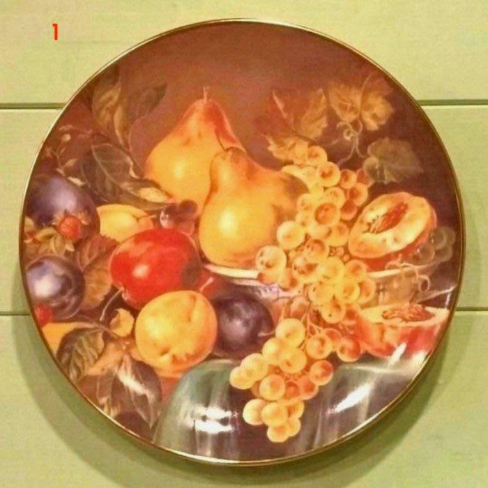 《齊洛瓦鄉村風雜貨》德國手繪彩盤掛盤