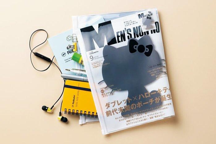 ☆Juicy☆日本雜誌附錄 HELLO KITTY 透明收納夾 化妝包 收納包 收納袋 小物包 手拿包 萬用袋 7269