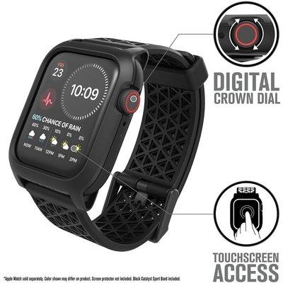 新版✅軍規防摔【公司貨】CATALYST  APPLE WATCH S4 / S5 44mm耐衝擊防摔保護殼含錶帶