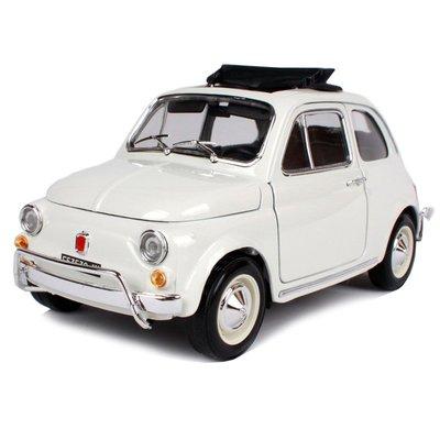 1968 菲亞特 FIAT 500L 白色 FT12035 1:18 合金車 模型 預購 阿米格Amigo