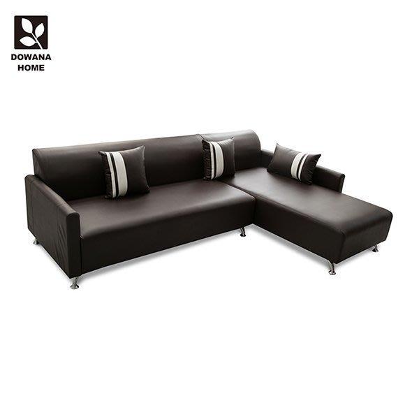 【多瓦娜】 Clive 克萊夫高椅背L型沙發  面右-四色-198-306
