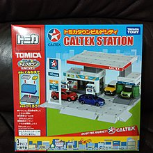 (100%new) Tomica Caltex 油站及油車