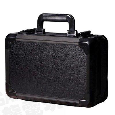 【二手商品】任天堂 SWITCH NS 副廠 大容量 主機收納包 攜帶包 硬殼 鋁框 安全鎖 黑色【台中恐龍電玩】