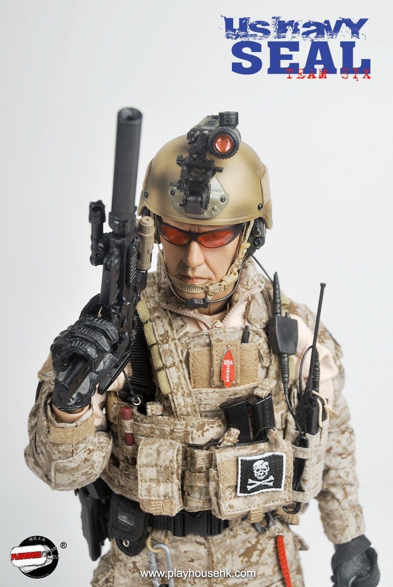 JAMES ROOM#1/6軍事模型12寸兵人PLAYHOUSE PH 1/6 美軍海豹六隊 SEAL海豹神兵