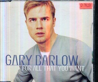 *還有唱片四館* GARY BARLOW / FOR ALL THAT YOU WANT 二手 D1828