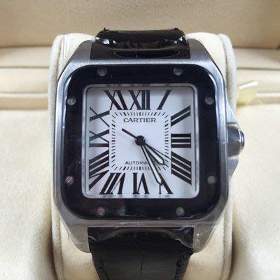 順利當舖 Cartier/卡帝亞  新款大錶徑Santos山度士100XL自動男錶