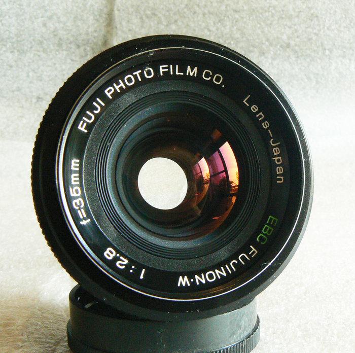 【悠悠山河】同新品 FUJI PHOTO EBC FUJINON 35mm F2.8 M42口 鏡片完美無傷無霧無霉無塵