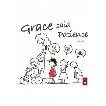 ☆天才老爸☆→【風車】Grace said Patience(英文版)← 兒童 英文 外文 繪本 故事書