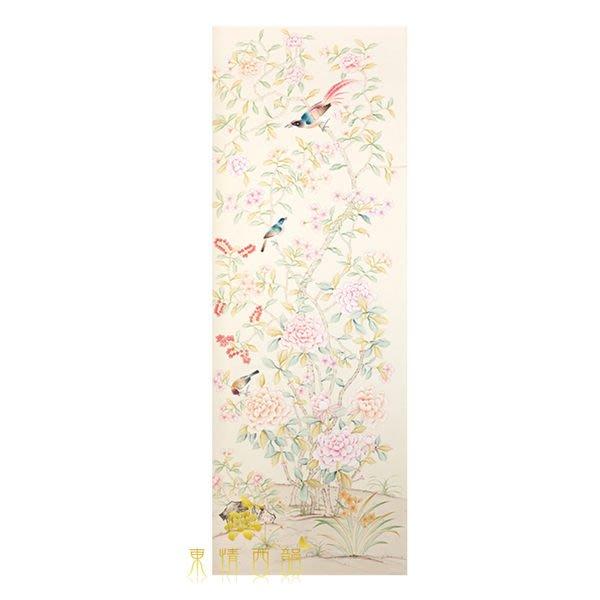 【芮洛蔓 La Romance】手繪絲綢壁紙 ZW01-025 / 壁飾 / 畫飾