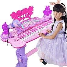 『免運』兒童電子琴女孩鋼琴初學者入門1-3-6歲寶寶多功能可彈奏音樂玩具  〖七彩夢家居〗