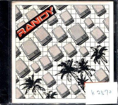 *真音樂* RANDY / WELFARE PROBLEMS 全新 K2570 (清倉.下標賣4)