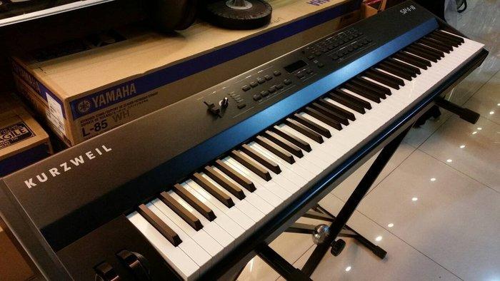 【高雄名人樂器】電鋼琴中最好音色-科茲威爾 Kurzweil SP4-8 攜帶式 重力度鍵盤