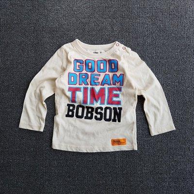 愛樂比~韓版童裝 Good Dream 英文字母兒童長袖上衣.T恤