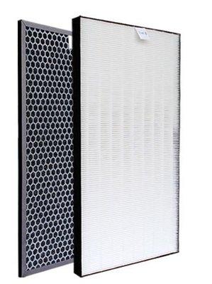 SHARP 夏普FU-D50T專用副廠代用HEPA濾網 FZ-D40XH FZ-D40XD活性碳濾網 高雄市