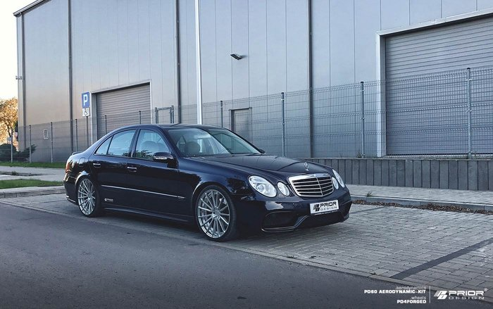 【樂駒】PRIOR DESIGN PD60 Aerodynamik Mercedes BENZ E-Class W211