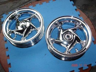【有間烤漆】專業機車電鍍銀鋁的傳動蓋成品一律1100(新勁戰 RV 馬車QC  GTR 雷霆 Fighter  G5 GT)