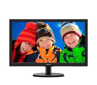 【曜買電腦&液晶螢幕】PHILIPS 223V5LSB2 22型LED寬螢幕顯示器-223V5LSB2