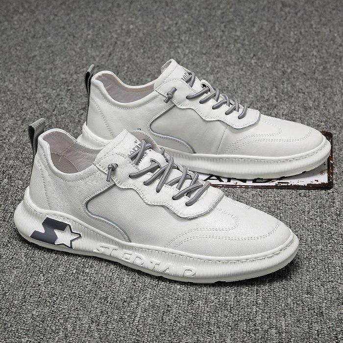 6Du spot~香港2020夏季新款套腳小白鞋潮流百搭耐磨運動休閑透氣懶人鞋板鞋