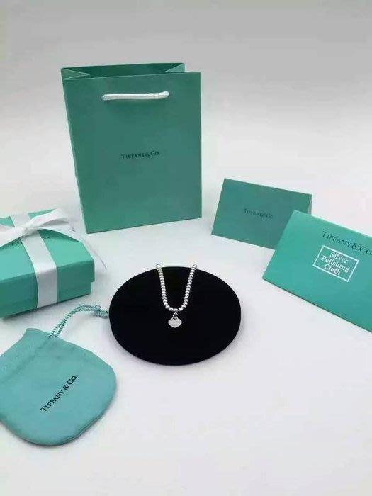 Melia 米莉亞代購 Tiffany&Co. 925純銀 Tiffany 蒂芙尼 項鍊 手鍊 手環飾品 雙心銀心手鍊