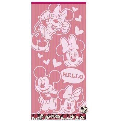 {阿猴達可達} 日本空運 Disney 迪士尼 米奇米妮 Uchino 毛巾 洗臉巾 運動毛巾 全新特價340元