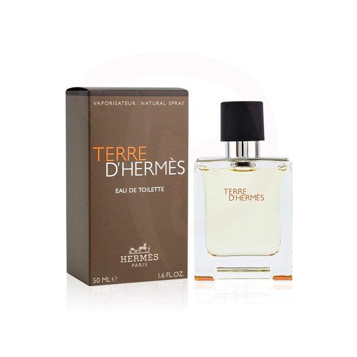 【DT髮品】Hermes Terre D'Hermes 愛馬仕 大地男性淡香水 50ml 男性香水【2524047】