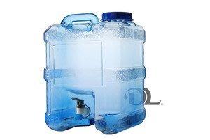 飲用水桶 手提附水龍頭 食品級pc材質 提水桶 儲水桶 喝水桶 四方形 20公升