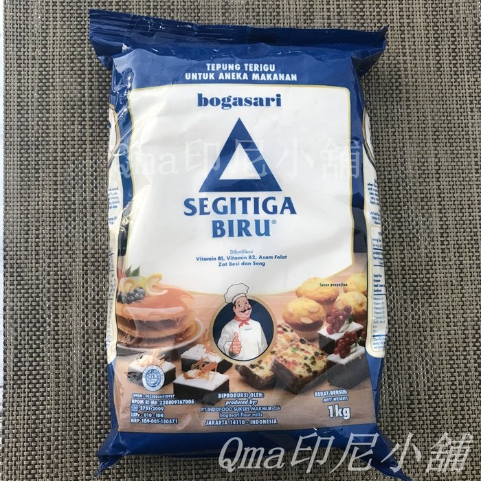 SEGITIGA BIRU 小麥麵粉1000g