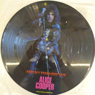 【柯南唱片】alice cooper feed my frankenstein//彩膠>> LP