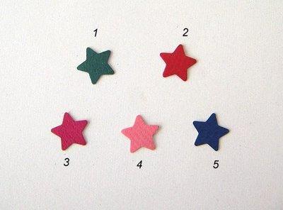 陽光一品~~ 打洞器手工貼紙-2 ~ 星星 (有5色)
