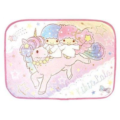 KIKILALA雙子星小毛毯 小被子 空調毯 夢幻獨角獸 日本正版~彤小皮的遊go世界