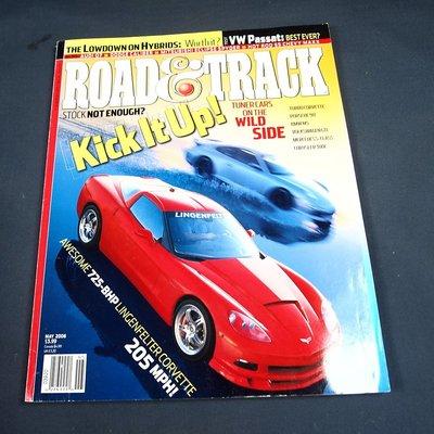 【懶得出門二手書】英文雜誌《ROAD & TRACK 》Kick It Up  2006.05│七成新(21Z32)