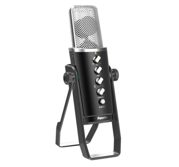 【六絃樂器】全新舒伯樂 Superlux E431U 多指向性電容式 USB麥克風 /  直播 專業音響器材