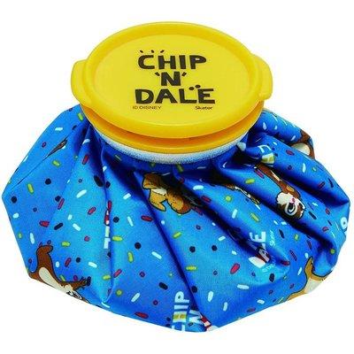 花見雜貨~日本進口 全新正版 迪士尼 Chip&Dale 奇奇蒂蒂 冰敷袋 冰枕 退熱袋 保冷袋 S尺寸