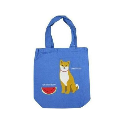 ◎Life Sense◎【FRIENDSHILL】日本 柴犬 三宅貓 A4 單肩帆布包 購物袋 肩背包 手提袋 書袋 狗