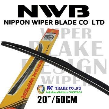 日本NWB 三節式軟骨雨刷片(可換雨刷膠條) 規格20吋/50CM 各車系適用 內有教學