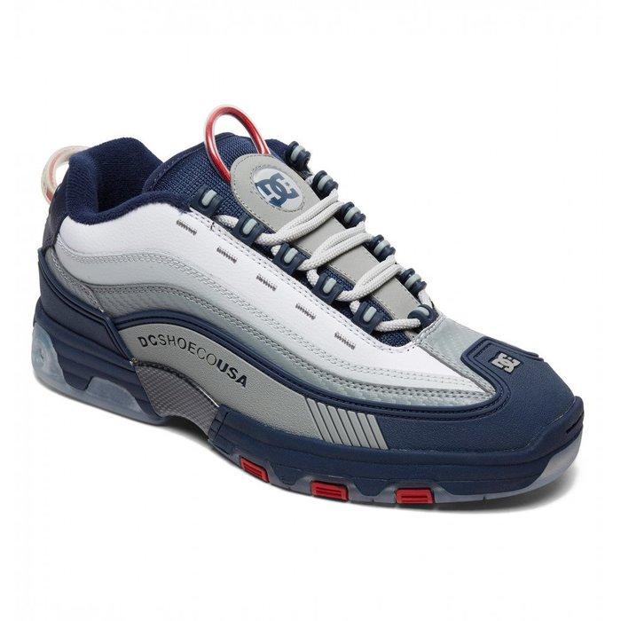 [CABAS滑板店] DC LEGAY OG 藍/紅 │經典 滑板鞋 復刻