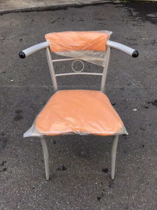 非凡二手家具 庫存品 橘色牛角餐椅*洽談椅*麻將椅*辦公椅*接待椅*電腦椅*化妝椅*房間椅*沙發椅*咖啡椅*皮椅