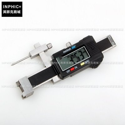 INPHIC-分析測量汽車行業用數顯面差尺/游標斷差規/面差規/段差尺 0-40mm三點款測試儀/實驗儀器_S2467C