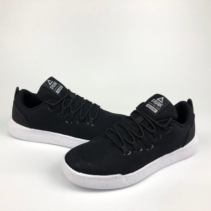 PEAK 休閒鞋 CLASSIC系列 黑 E72787B 男 I19 亮禹體育PEAK台灣經銷商