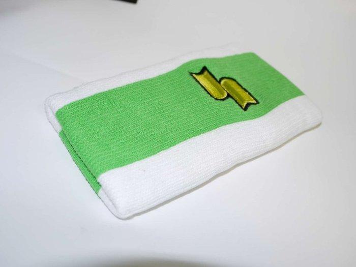 貳拾肆棒球--SSK PRO 職業用護腕 綠