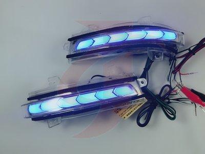 金強車業HONDA CRIDER 2013 原廠部品 後視鏡流水燈 跑馬燈 方向燈 小燈 定位燈 序列式
