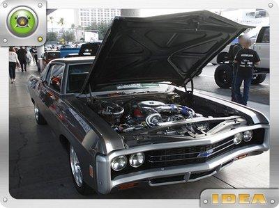泰山美言社 D4695 1969 Chevy Camaro SS 車款 引擎電鍍施工處理